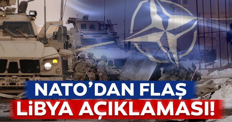 Son dakika: NATO'dan Libya'ya destek mesajı