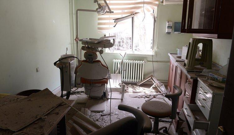 PKK Şırnak'ta hastaneleri yakıp yıktı