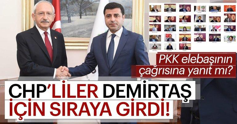 Demirtaş'a CHP'li akını