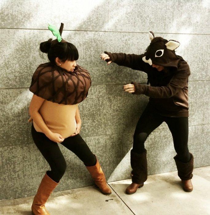 En garip hamile kostümleri
