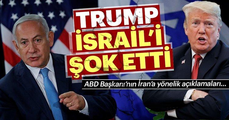 İsrail Trump'ın İran'la ilgili açıklamasını şaşkınlıkla karşıladı