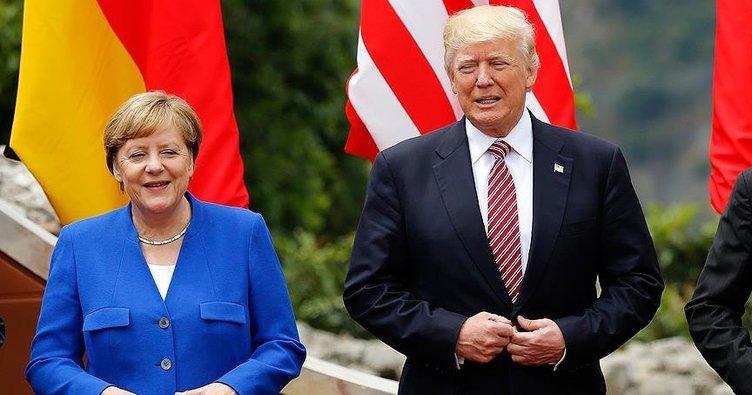 Merkel ile Trump G20 öncesi görüştü