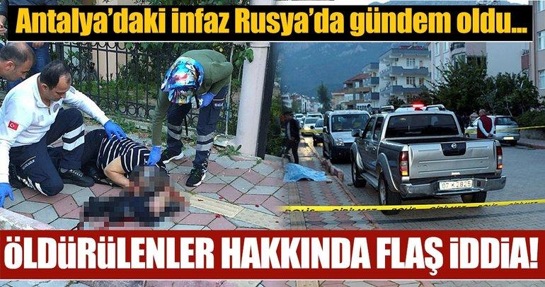 Son dakika: Antalya'da Gürcü baba-oğula silahlı saldırıda şok detay! Rusya'da ünlü mafya lideri olduğu iddiası...