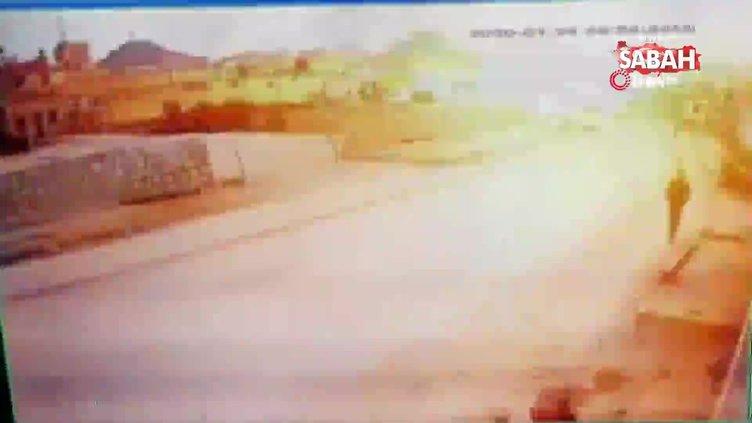 Azez'deki patlama anı kamerada! 7 ölü 15 yaralı