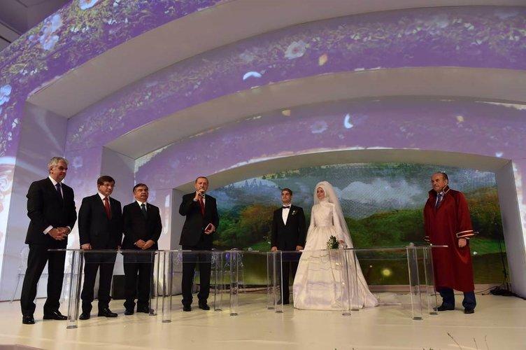 Abdullah Gül oğlunu evlendirdi