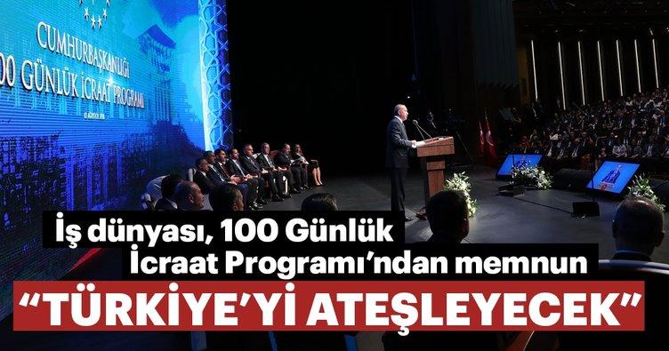 İş dünyası, 100 Günlük İcraat Programı'ndan memnun
