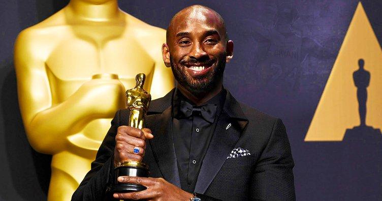 NBA efsanesi Kobe Bryant, Oscar ödülü kazandı
