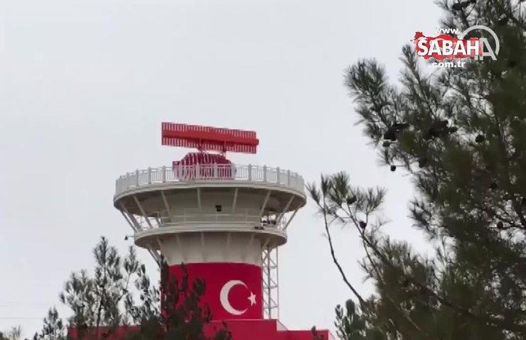 Yerli ve milli radarımız MGR Milli Gözetim Radarı Gaziantep Havalimanı'nda çalıştırıldı! | Video