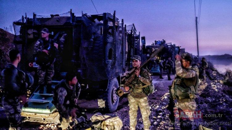 Barış Pınarı Harekatı devam ediyor! Sıcak bölgeden yeni fotoğraflar...