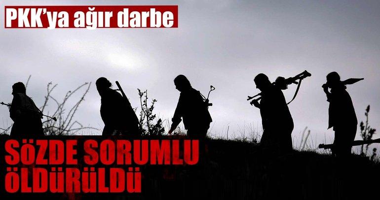 PKK'nın sözde Ağrı Dağı alan sorumlusu terörist öldürüldü