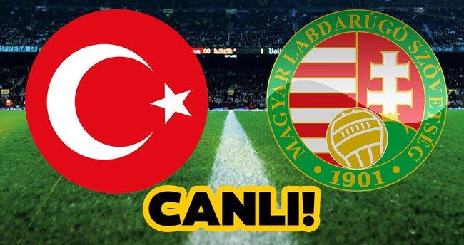Türkiye Macaristan maçı canlı yayın izle! TRT 1 Türkiye Macaristan Milli  maçı canlı izle ekranı - Son Dakika Haberler