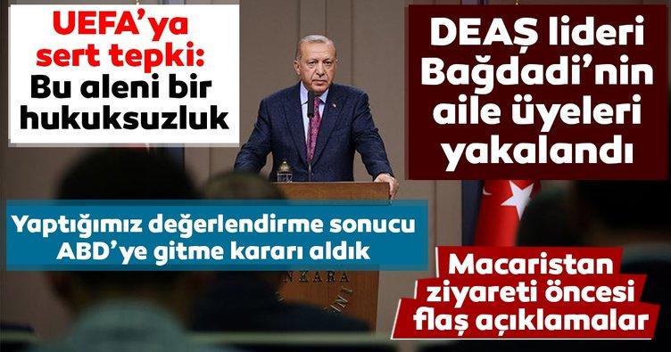 Başkan Erdoğan'dan Macaristan ziyareti öncesi flaş açıklamalar