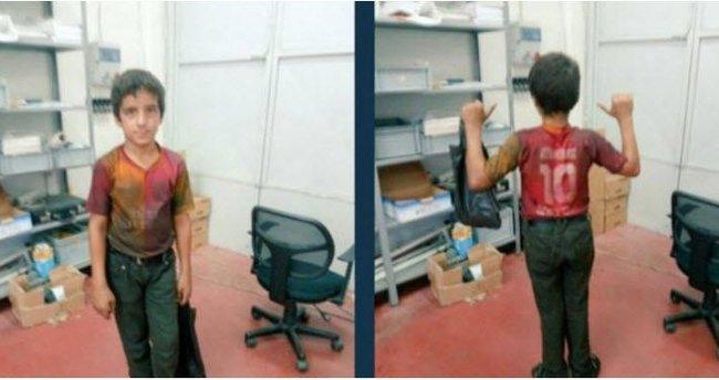 Galatasaray'dan Suriyeli çocuğa büyük jest!