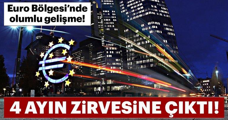 Euro Bölgesi hizmet PMI 4 ayın zirvesine çıktı
