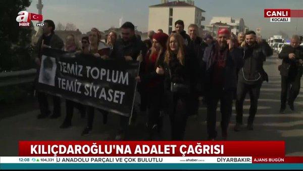 CHP Maltepe teşkilatı Kemal Kılıçdaroğlu'na karşı 'Adalet' için İstanbul'dan Ankara'ya yürüyor!