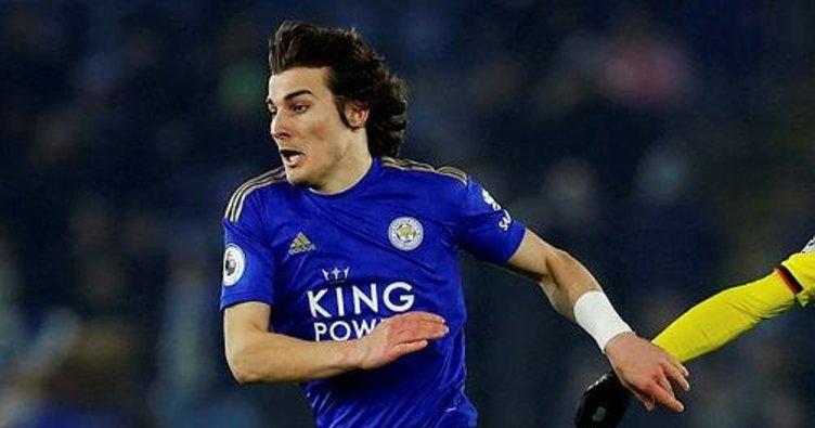 Leicester City'de forma giyen Çağlar Söyüncü'ye Barcelona talip oldu!