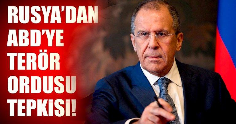 Rusya'dan Suriye tepkisi: ABD destekli güçler bölünmeye yol açar