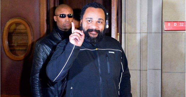 Fransız komedyen Dieudonne M'bala Türkiye'ye sığınma talebinde bulundu