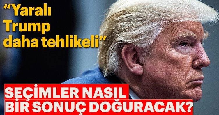 Yaralı Trump daha tehlikeli