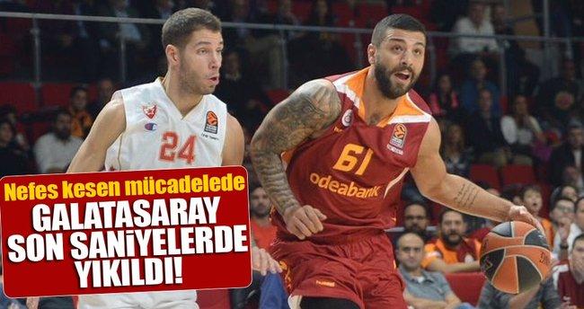 Galatasaray Odeabank-Kızılyıldız maç sonucu