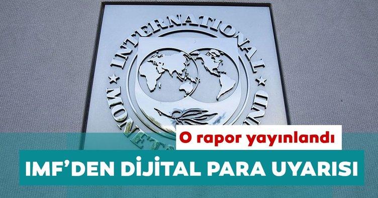 IMF'den dijital para uyarısı