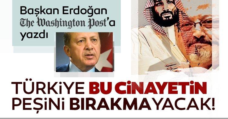 Son dakika: Başkan Erdoğan'dan dünyaya Cemal Kaşıkçı mesajı! Türkiye bu cinayetin peşini bırakmayacak!