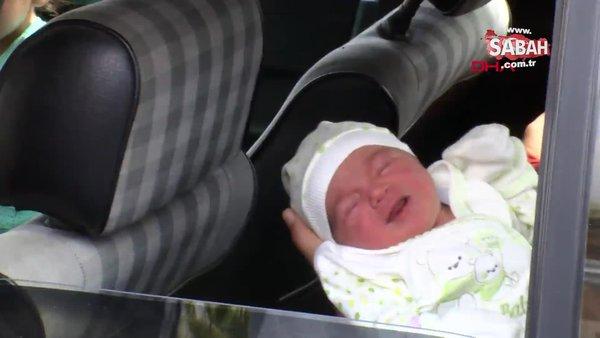 Adana'da polis memuru kadın ile yolda doğum yaptırdığı anne ve bebekle bir araya geldi | Video