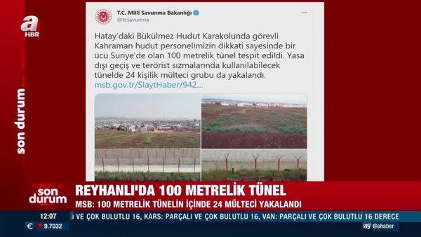 MSB'den son dakika flaş duyuru '100 metrelik tünelin içinde yakalandılar'