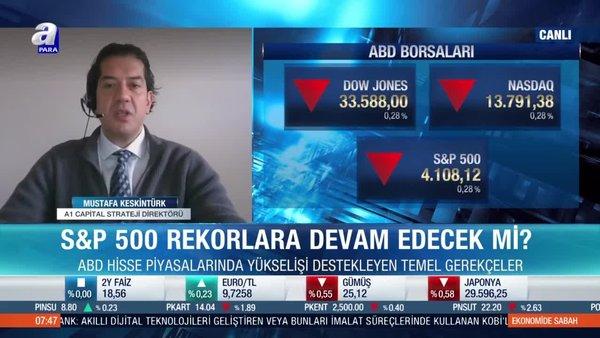Mustafa Keskintürk: Yurt dışında ciddi bir düzeltme bekliyorum