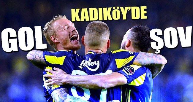 Fenerbahçe'den Karabükspor'a gol yağmuru