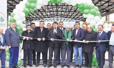 Bursa'nın ilk katı atık geliştirme merkezi Osmangazi'de açıldı