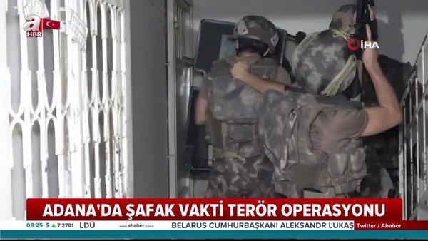 Adana'da PKK'nın gençlik yapılanmasına şafak baskını: 13 şüpheli gözaltına alındı | Video
