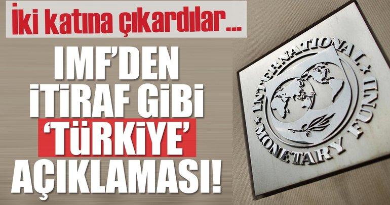 Son dakika: IMF Türkiye için büyüme beklentisini yükseltti