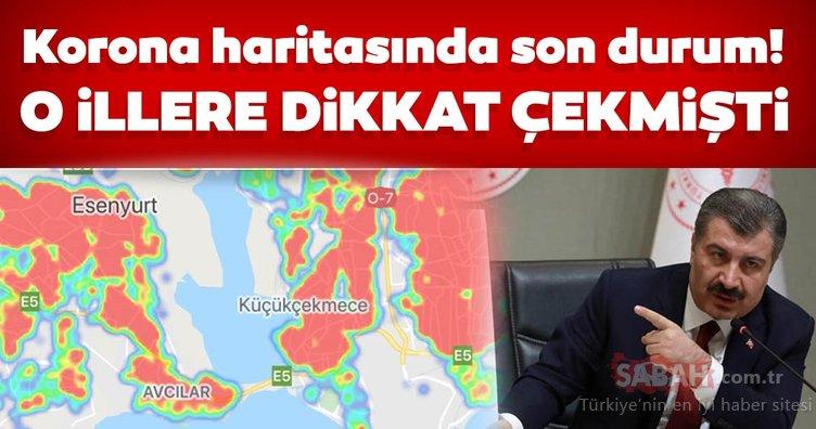 SON DAKİKA: Bakan Koca korona virüs vaka sayısı artan bölge ve illeri açıkladı! Ankara İstanbul'u geçti