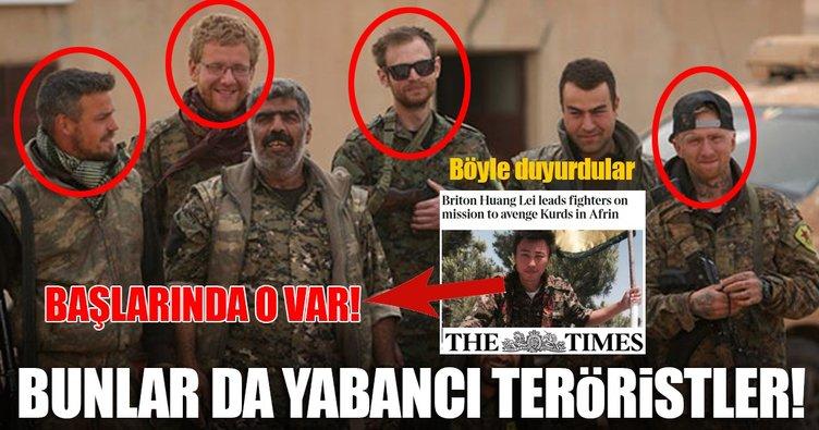 İşte YPG içindeki yabancı teröristler!