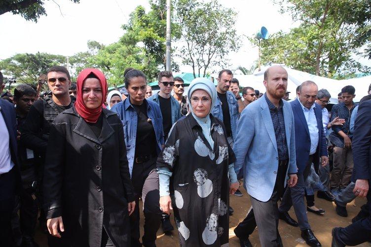 Emine Erdoğan Arakan Müslümanları için Bangladeş'te