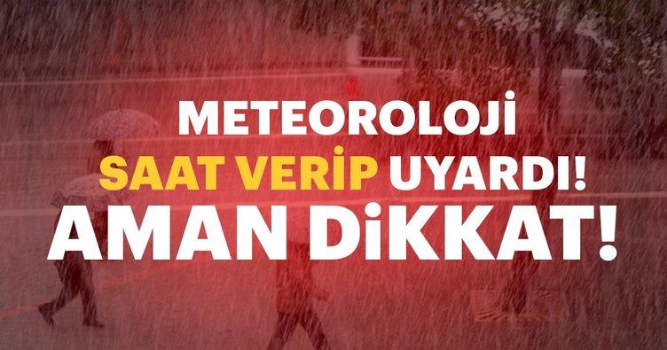 Son dakika: Meteoroloji'den İstanbul için uyarı
