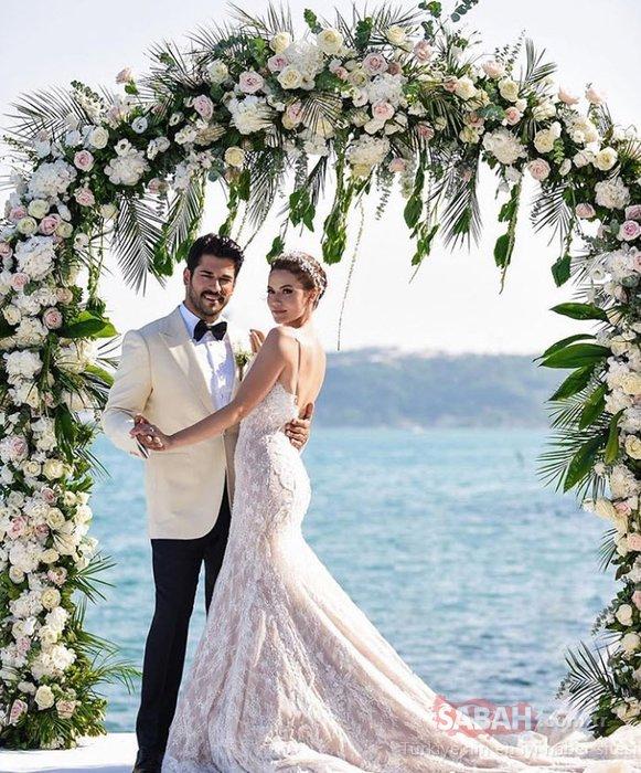 Fahriye Evcen eşi Burak Özçivit'in doğum gününde aşka geldi! Fahriye Evcen ile Burak Özçivit'in doğum günü pozları sosyal medyayı salladı!