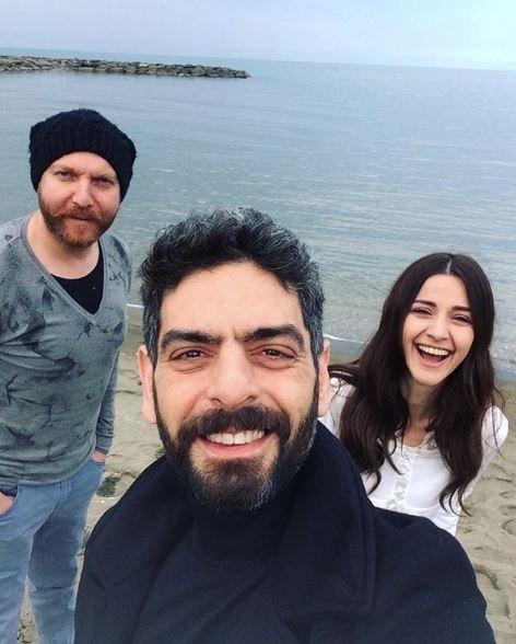 'Sen Anlat Karadeniz' oyuncularının set halleri