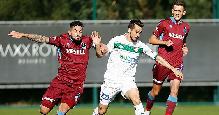 Trabzonspor 0 - 0 Bursaspor MAÇ ÖZETİ