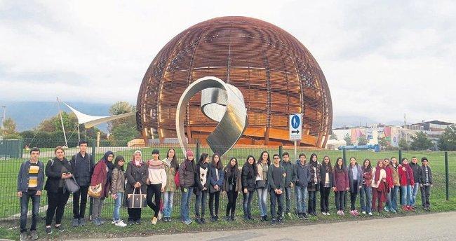 Öğrencilerin CERN hayali gerçek oldu