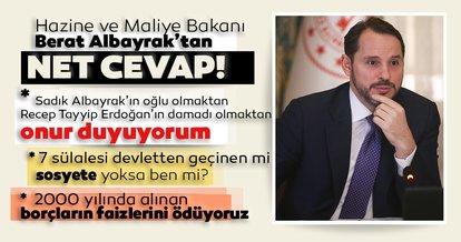 Hazine ve Maliye Bakanı Berat Albayrak'tan CHP'lilerin çirkin iftiralarına sert yanıt