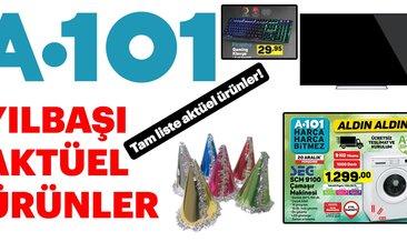 A101 aktüel ürünler listesi ile keyifli alışverişler! 20 Aralık aktüel ürünler kataloğu burada