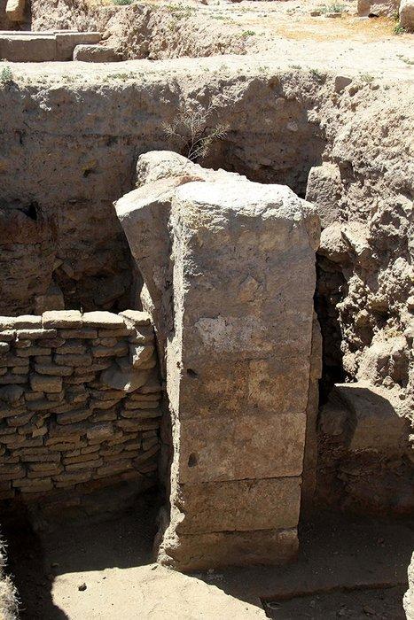 Harran'da 900 yıllık şadırvan izleri