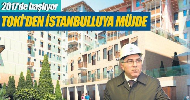 TOKİ İstanbul'da 15 bin konut yapacak