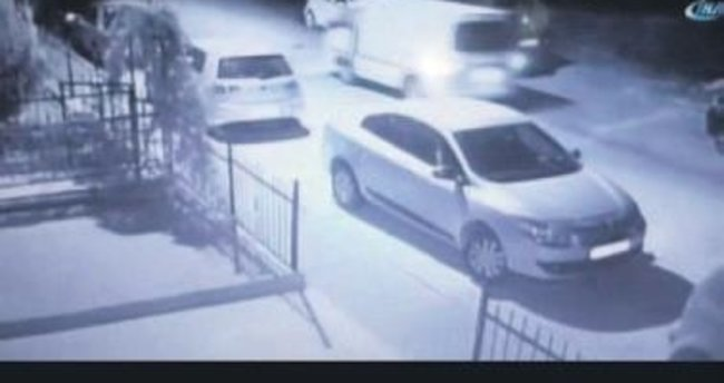 Hırsızlar aracı jet hızıyla çaldı