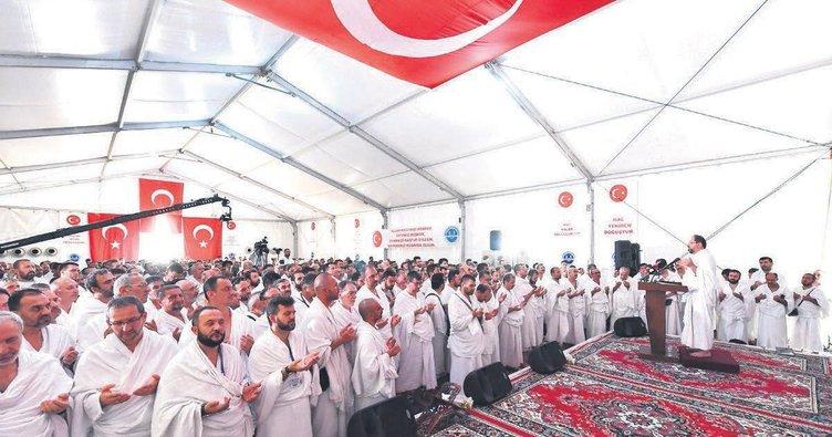 Arafat'ta Türkiye duası