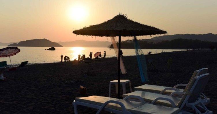 Türkiye'nin ilk ekolojik plajı hizmete açıldı