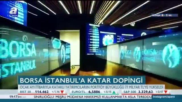 Borsa İstanbul'a Katar dopingi