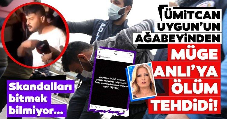 Son dakika haberler: Ümitcan Uygun'un ağabeyinden Müge Anlı'ya ölüm tehdidi: Aleyna Çakır'ın ölümünü herkese yaşatacağım